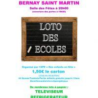 Loto des écoles - BERNAY-SAINT-MARTIN