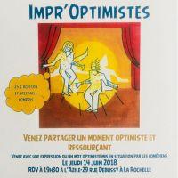 Soirée Impr'Optimiste le 14 juin à l'Azile - LA ROCHELLE