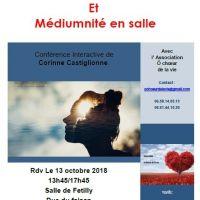 A l'écoute de notre intution, conférence de Corinne Castiglione avec ô choeur de la vie - LA ROCHELLE