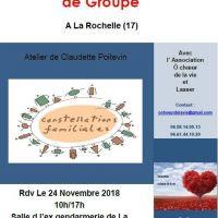 stage Constelations familiales de groupe - LA ROCHELLE