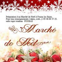 Marché de noël de Fouras 17450 - FOURAS