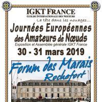Journées européennes des amateurs de nœuds - ROCHEFORT